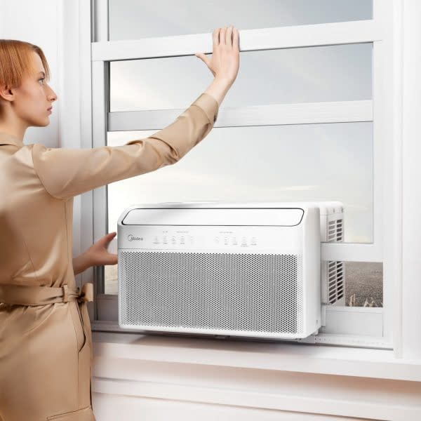 Quieter and Cooler with Smart Control Features, the New Midea U Allows Consumers to Open the Window!
